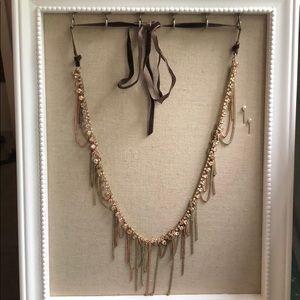 Stella & Dot Alexa Fringe Necklace